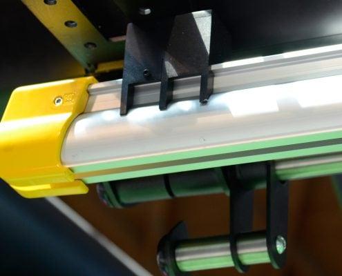 Punching bag rail details