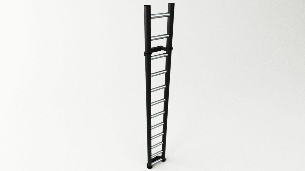 Tiny gym ladder